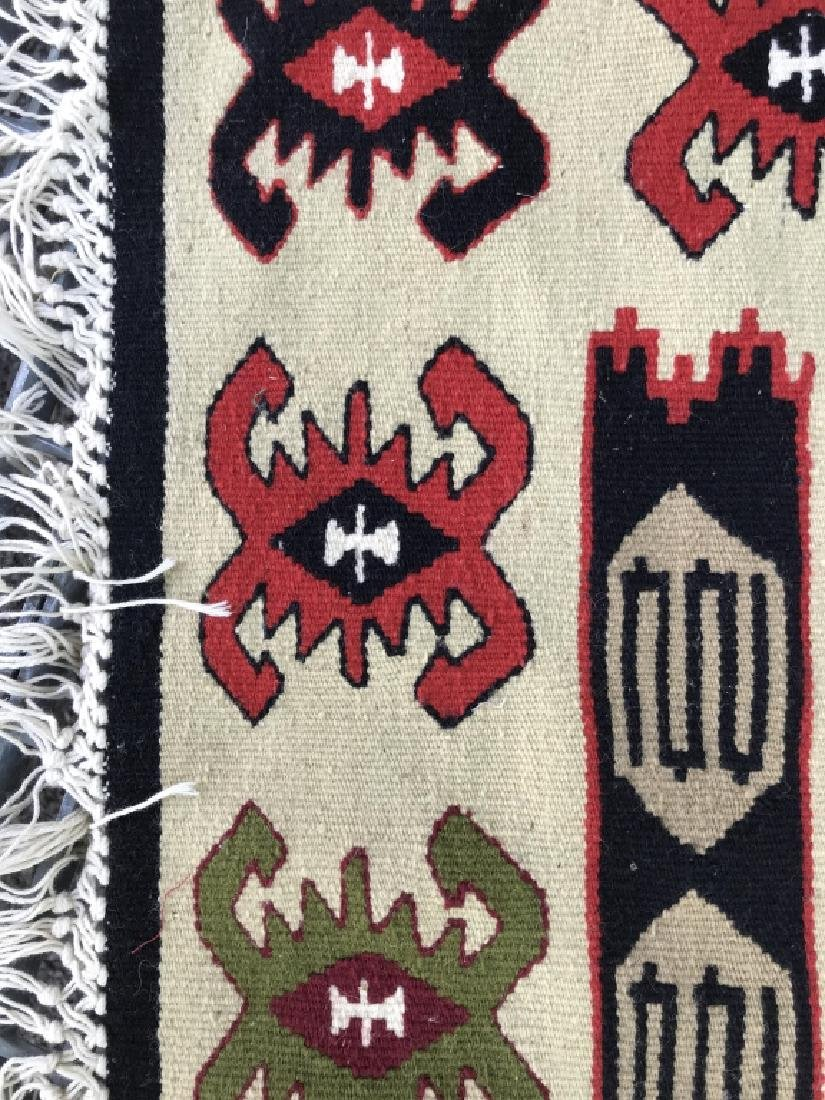 Aztec Print Colorful Woven Area Rug - 4