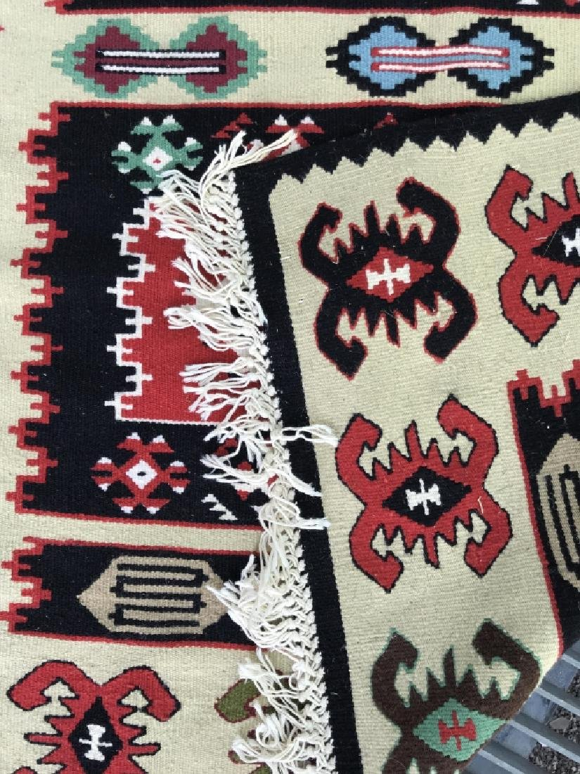 Aztec Print Colorful Woven Area Rug - 6