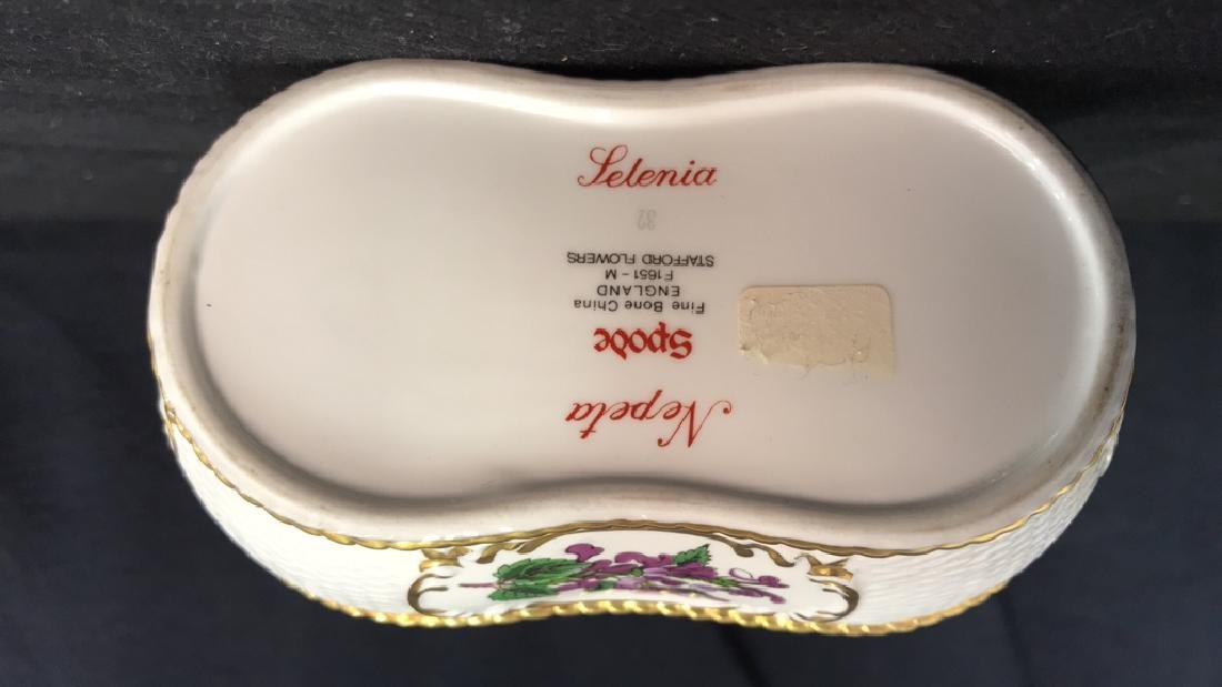 NEPETA SPODE Fine Bone China Inkwell - 10