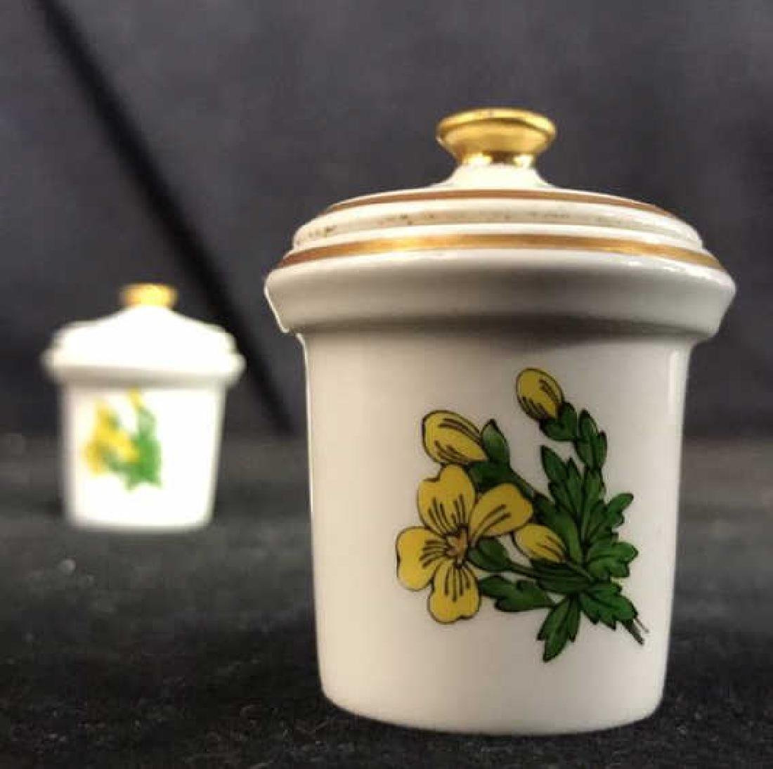 NEPETA SPODE Fine Bone China Inkwell - 9
