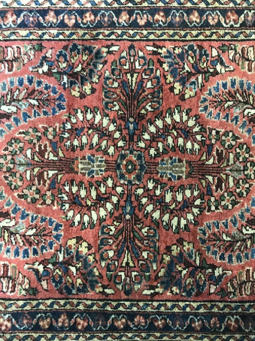 Antique Persian Handmade Wool Rug - 10