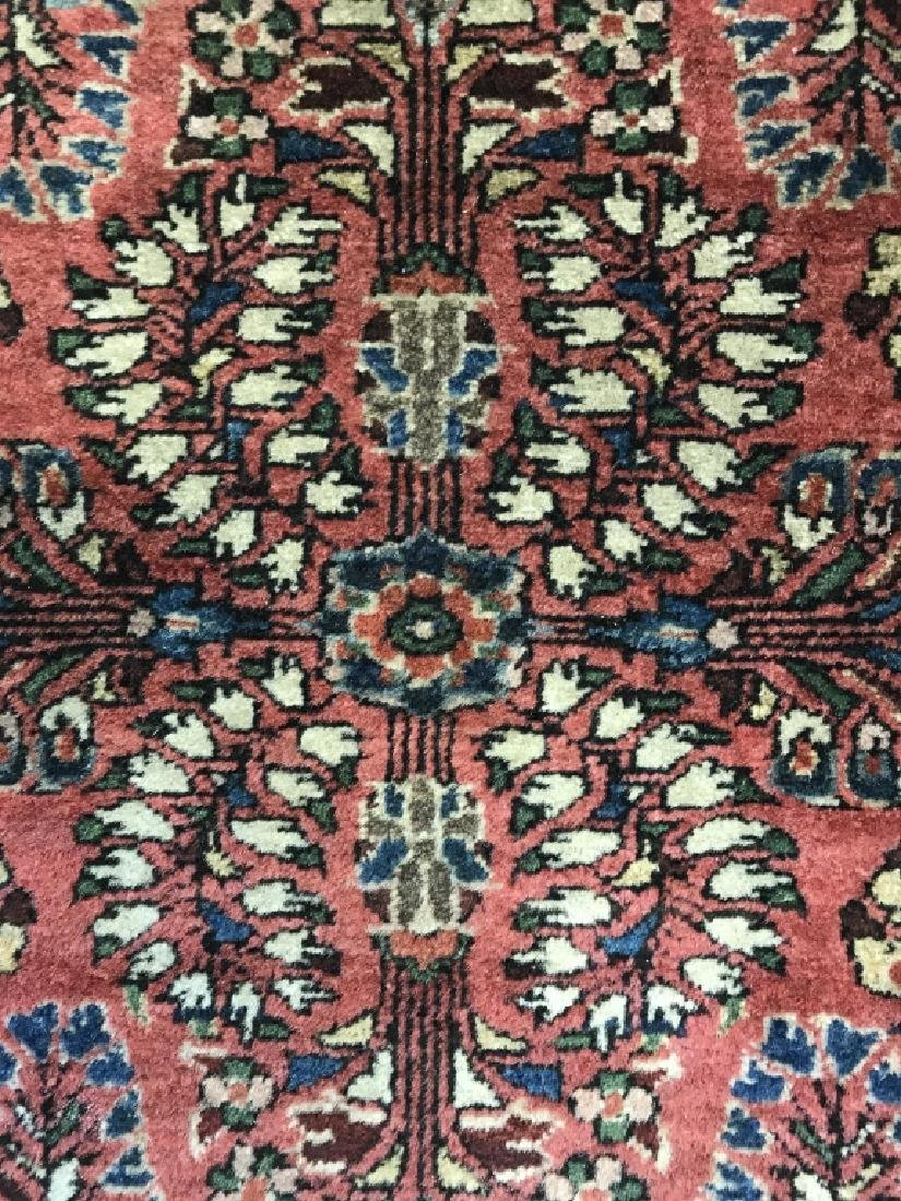 Antique Persian Handmade Wool Rug