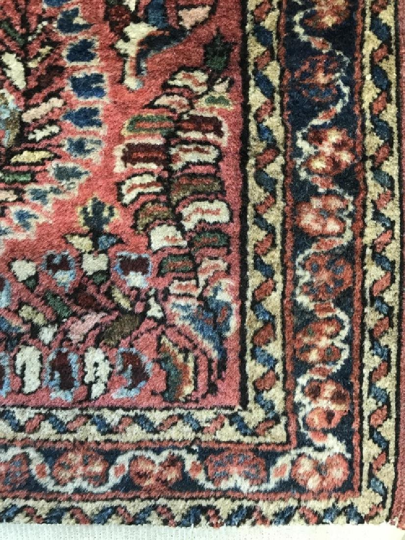 Antique Persian Handmade Wool Rug - 6