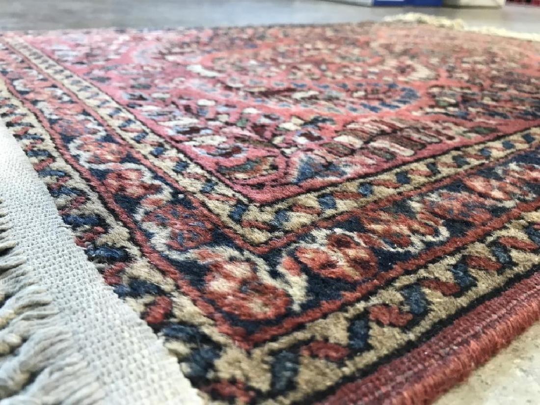 Antique Persian Handmade Wool Rug - 7