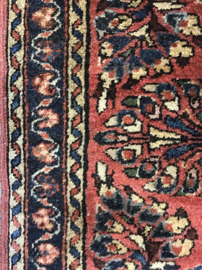 Antique Persian Handmade Wool Rug - 9