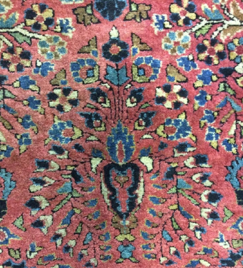 Handmade Persian Fringed Wool Rug - 6