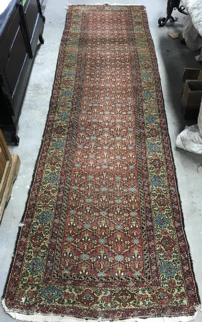 Antique Handmade Wool Runner - 3
