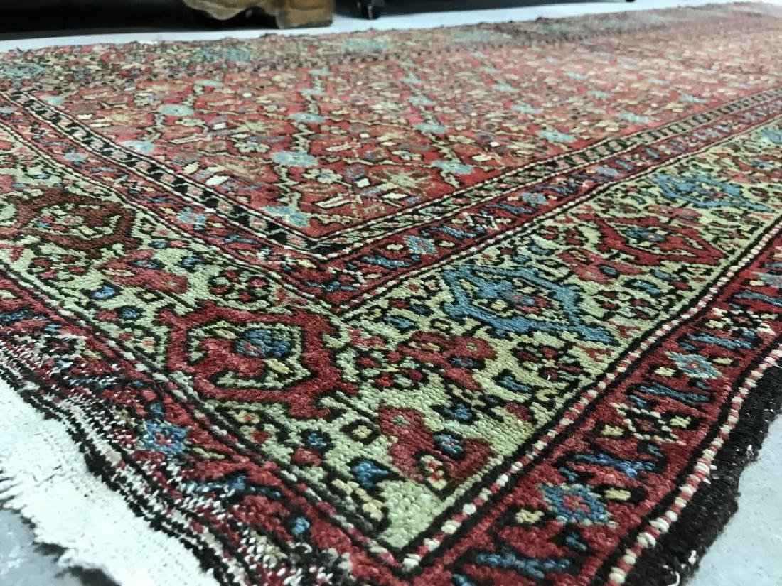Antique Handmade Wool Runner - 5
