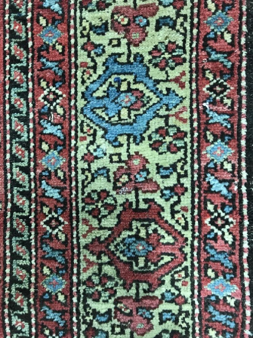 Antique Handmade Wool Runner - 6