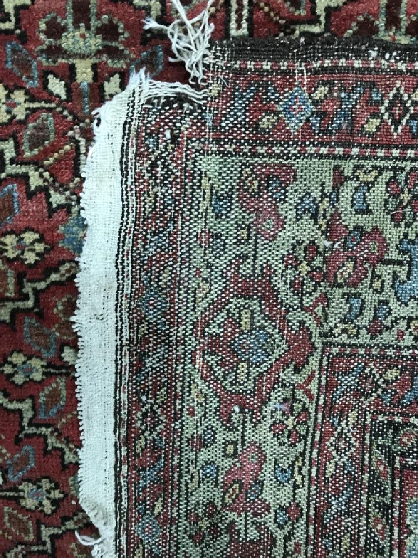 Antique Handmade Wool Runner - 7