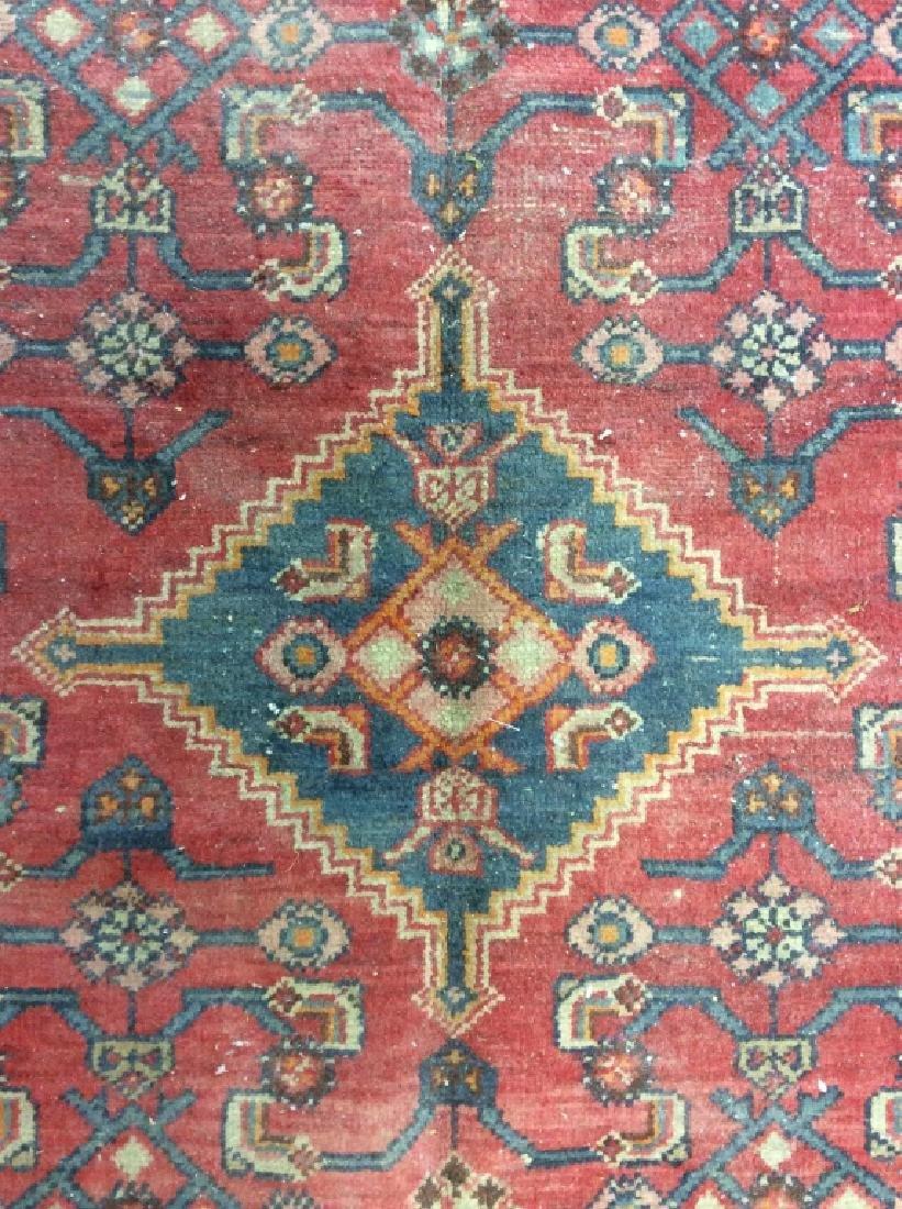 Handmade Vintage Traditional Wool Rug