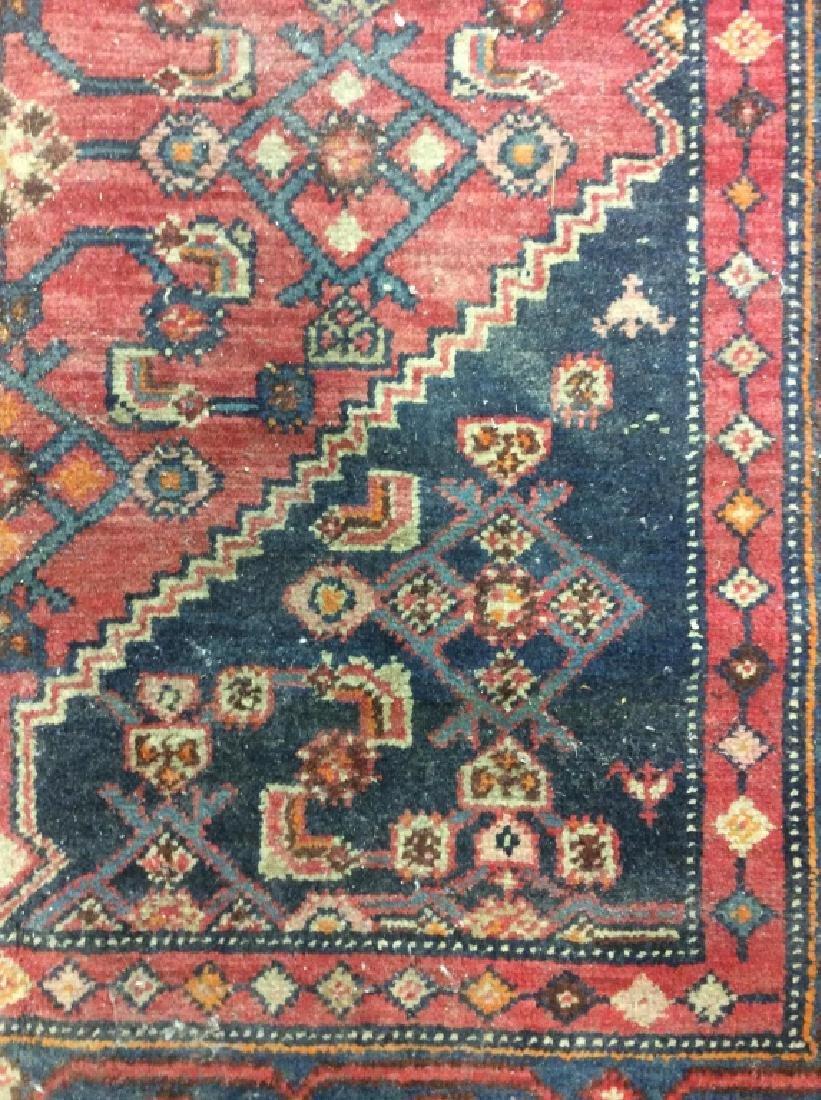 Handmade Vintage Traditional Wool Rug - 2
