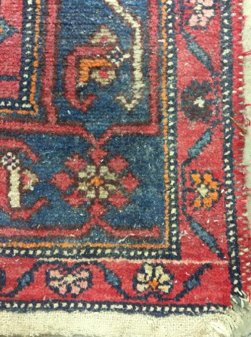 Handmade Vintage Traditional Wool Rug - 4