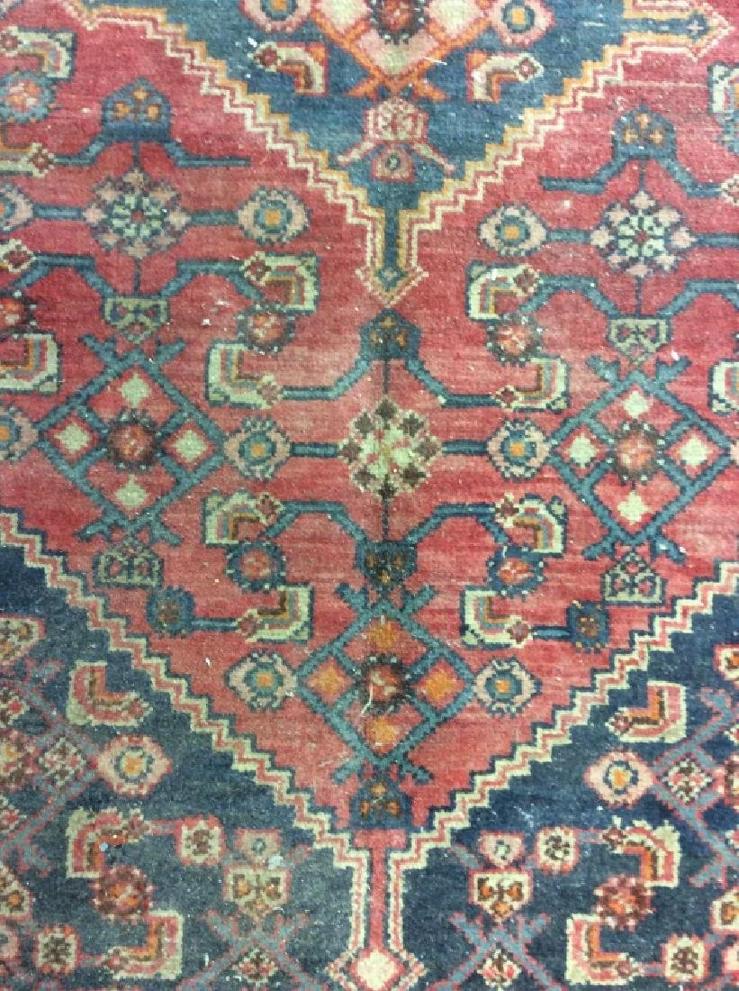 Handmade Vintage Traditional Wool Rug - 5