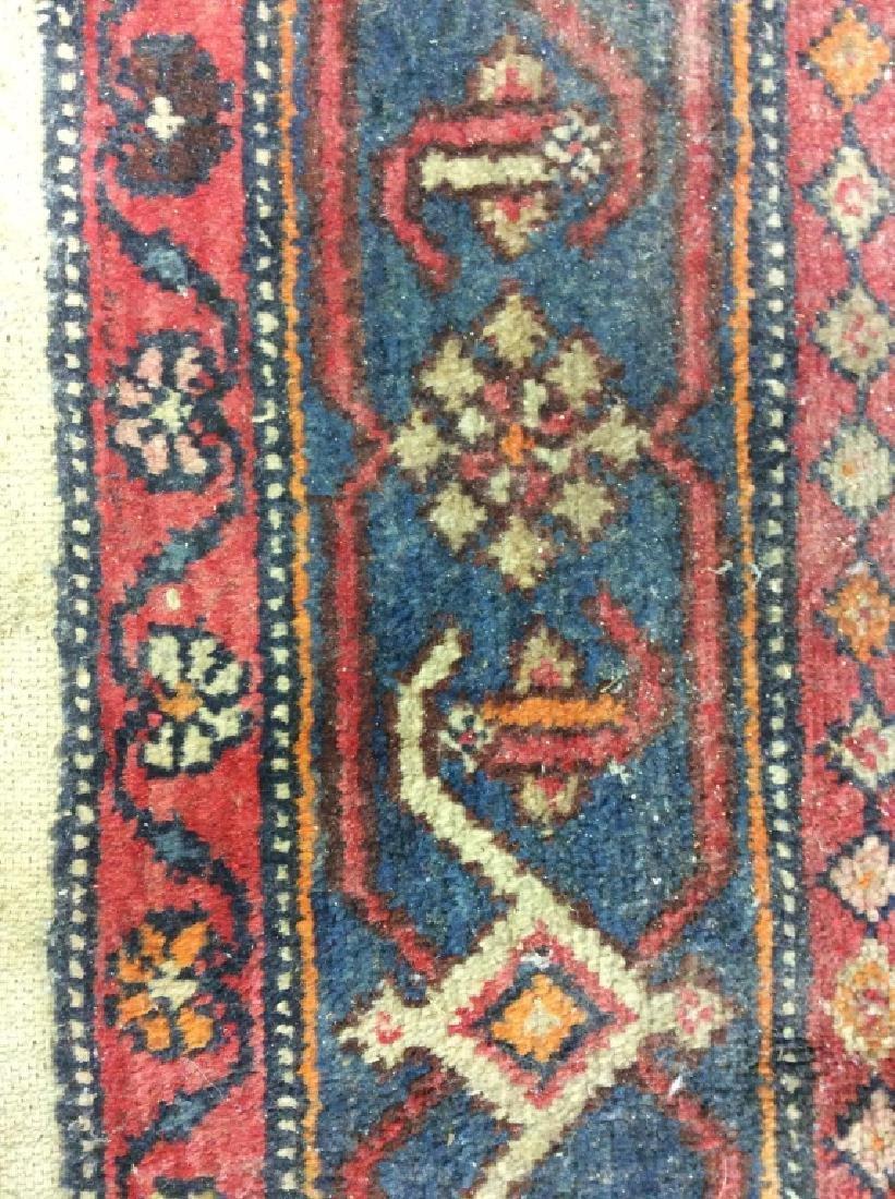 Handmade Vintage Traditional Wool Rug - 6