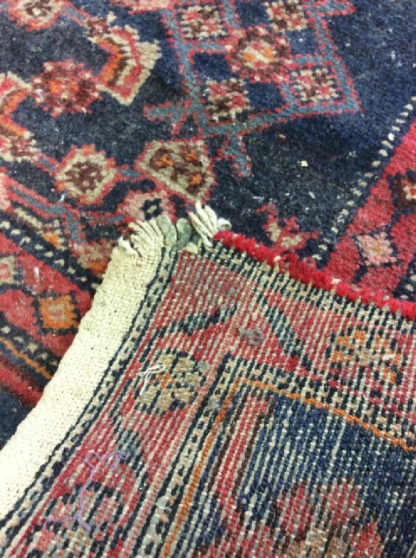 Handmade Vintage Traditional Wool Rug - 8