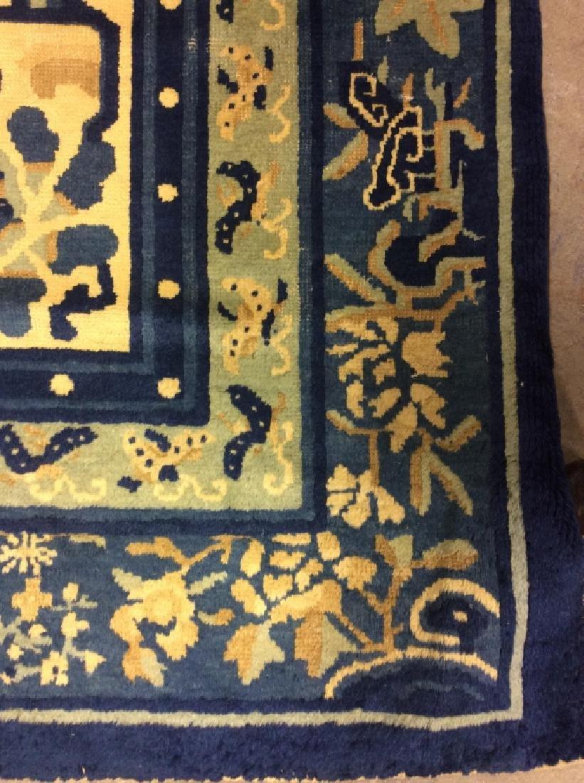 Chinese Art Deco Handmade Wool Rug - 4