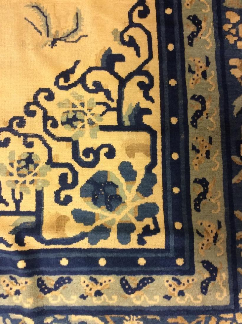 Chinese Art Deco Handmade Wool Rug - 5