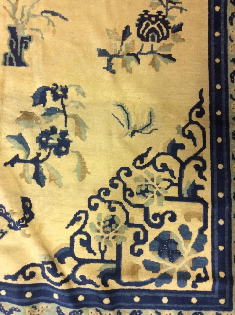 Chinese Art Deco Handmade Wool Rug - 6
