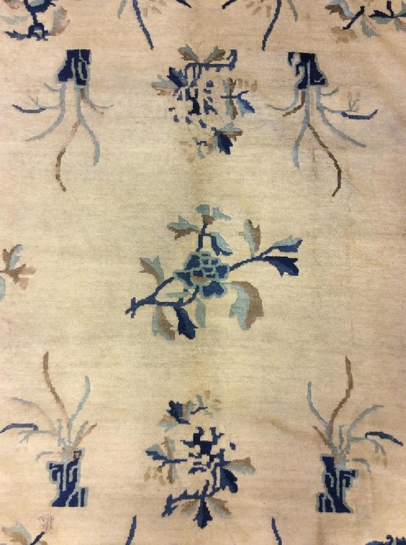 Chinese Art Deco Handmade Wool Rug - 7