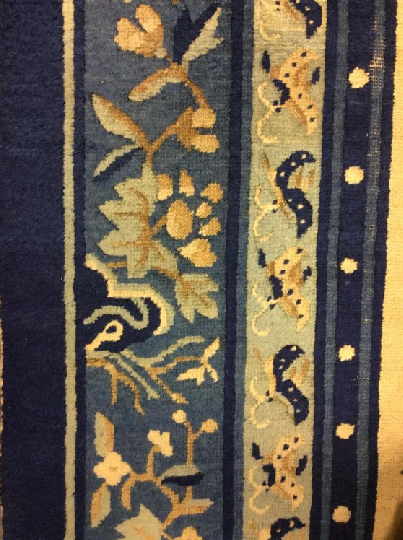 Chinese Art Deco Handmade Wool Rug - 8