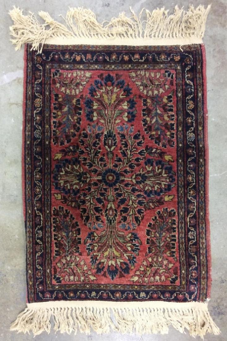 Antique Persian Handmade Wool Rug - 2