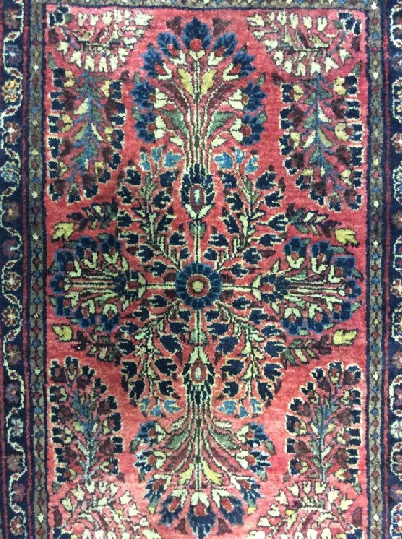Antique Persian Handmade Wool Rug - 3