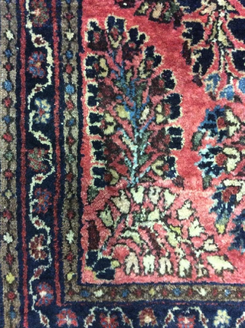Antique Persian Handmade Wool Rug - 4