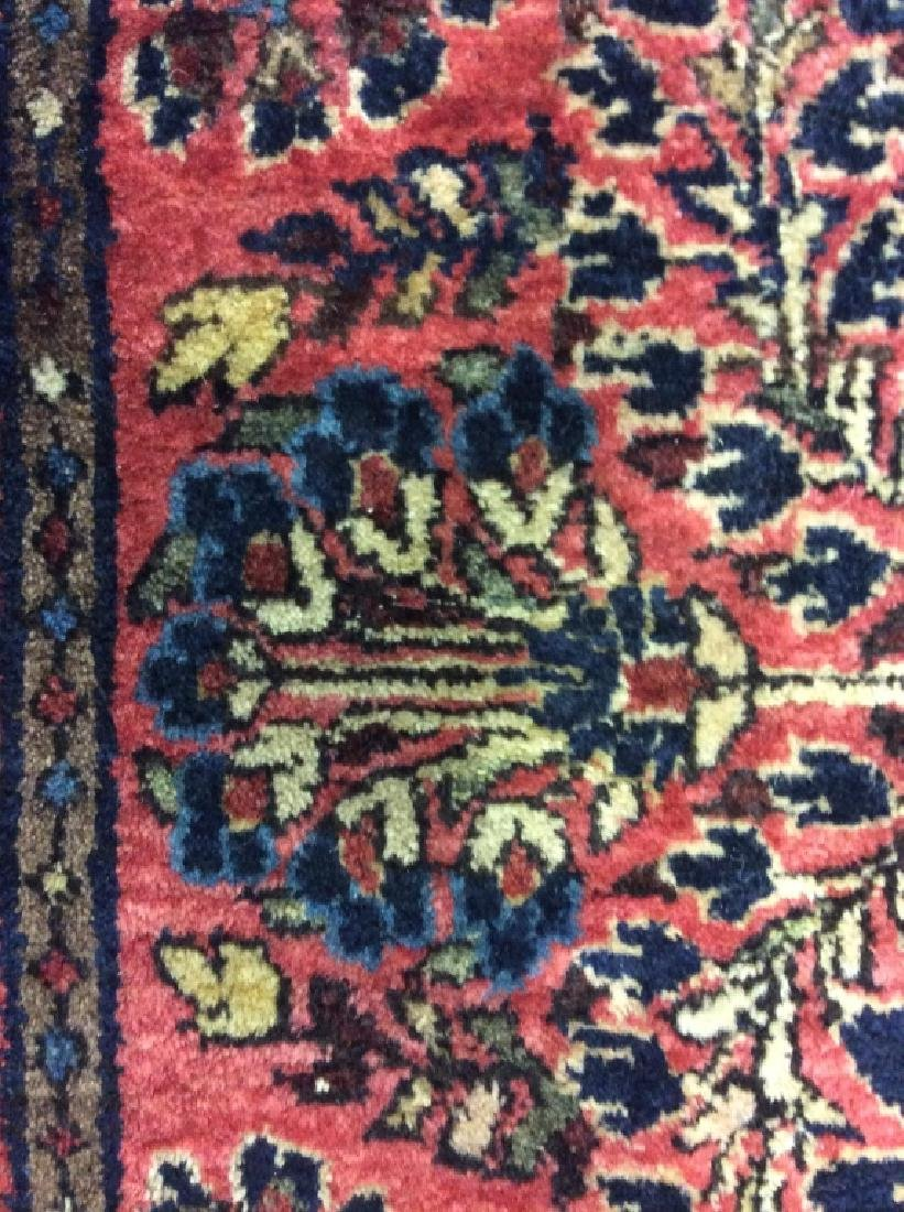 Antique Persian Handmade Wool Rug - 5
