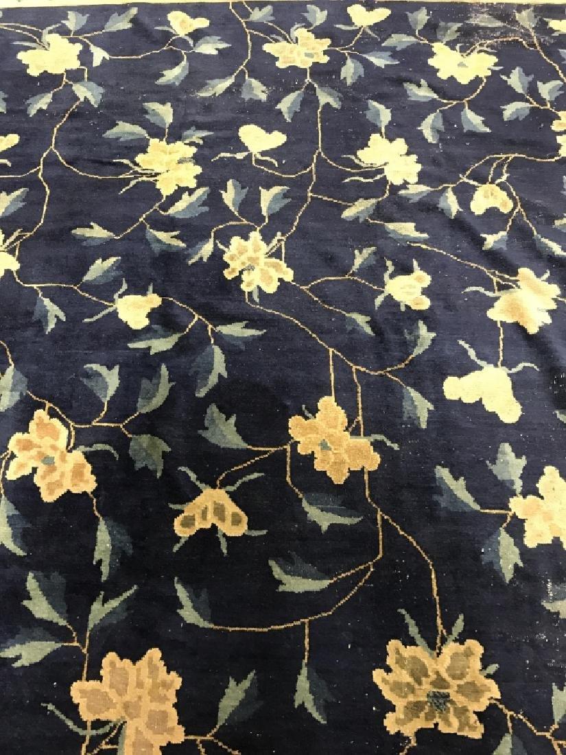 Handmade Chinese Art Deco Wool Rug - 10