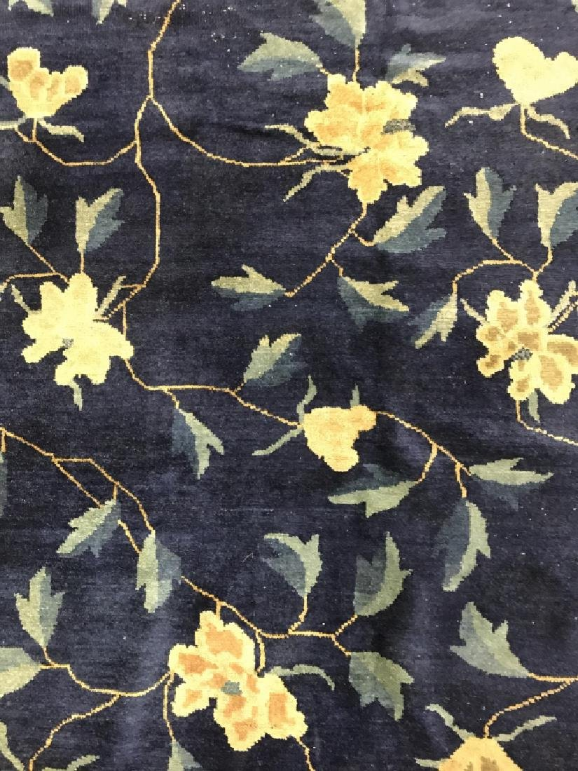 Handmade Chinese Art Deco Wool Rug - 4