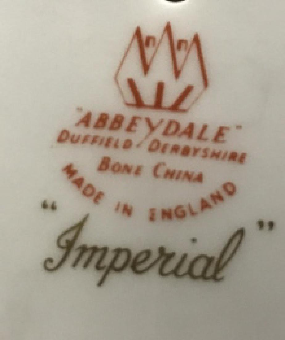 ABBEYDALE DUFFIELD DERBYSHIRE Candy Dish & Lid - 7