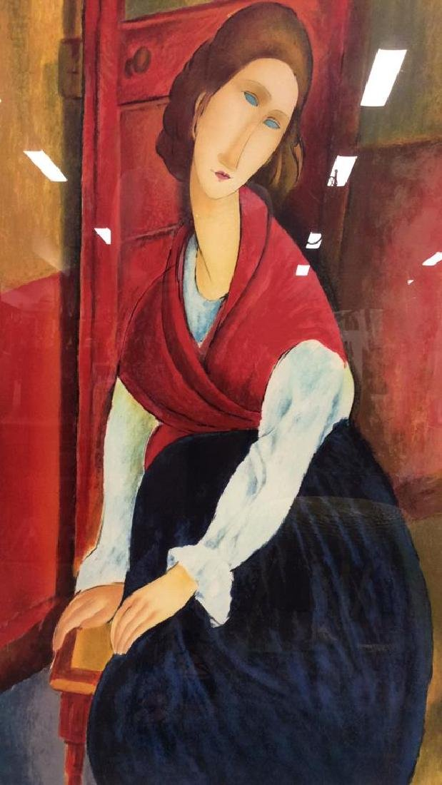 Modigliani Limited Edition Lithograph