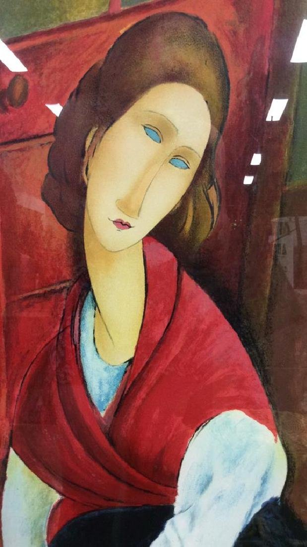 Modigliani Limited Edition Lithograph - 3
