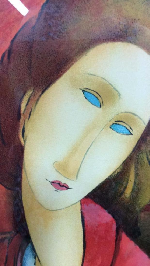 Modigliani Limited Edition Lithograph - 4
