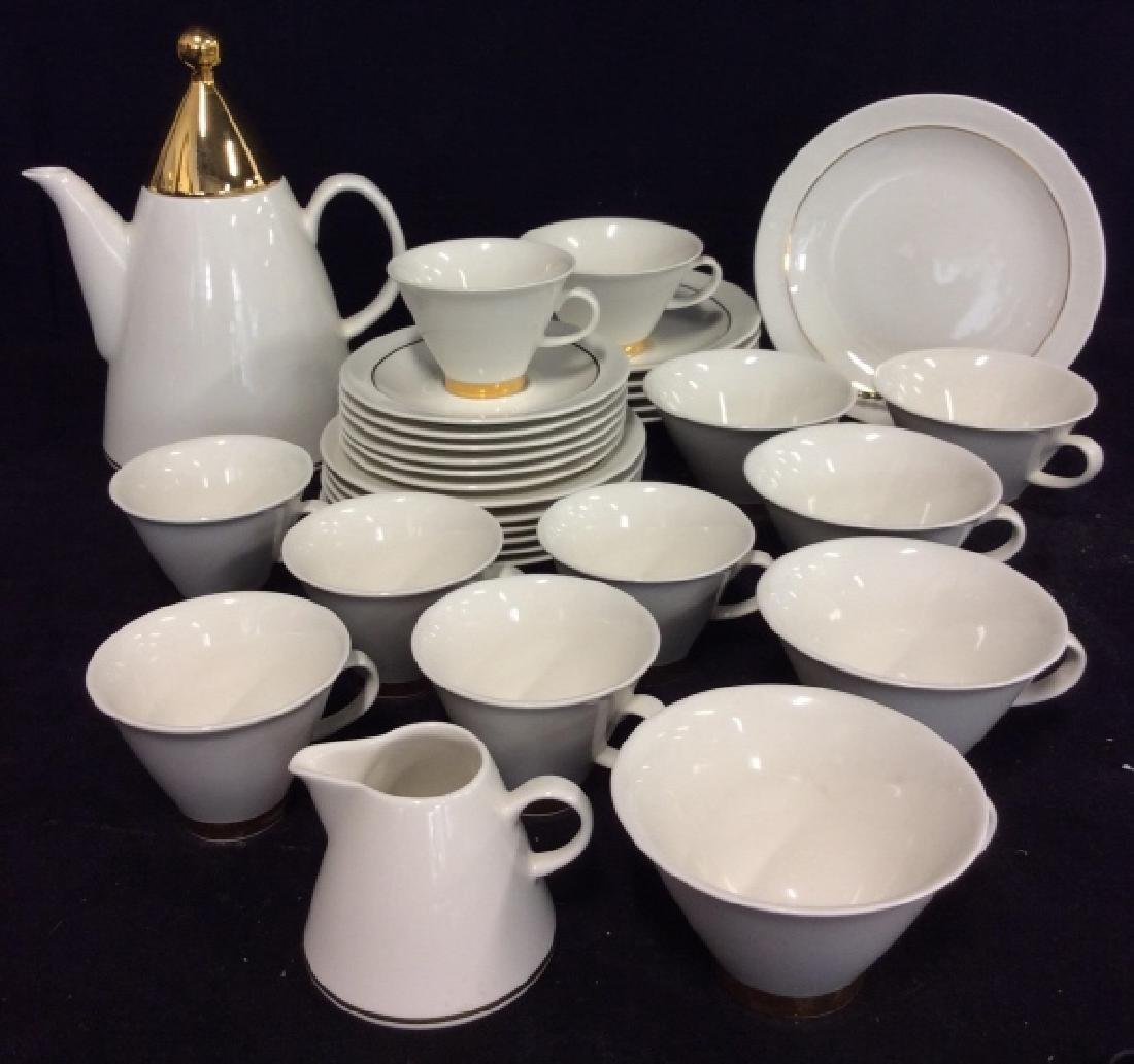 Set20 ARABIA Finland Harlekin Coffee Set
