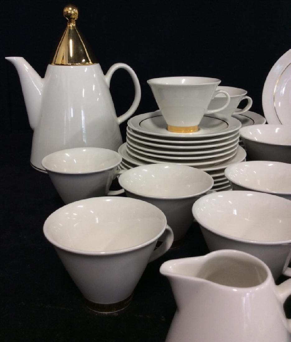 Set20 ARABIA Finland Harlekin Coffee Set - 2