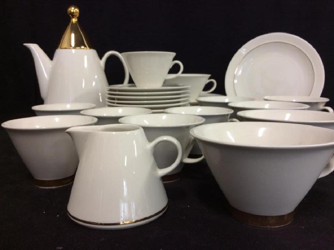 Set20 ARABIA Finland Harlekin Coffee Set - 3
