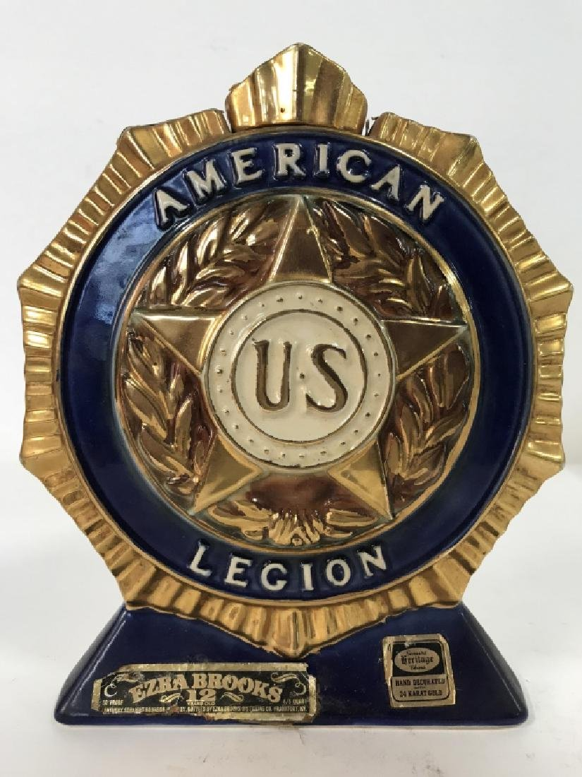Vintage HERITAGE CHINA American Legion Decanter