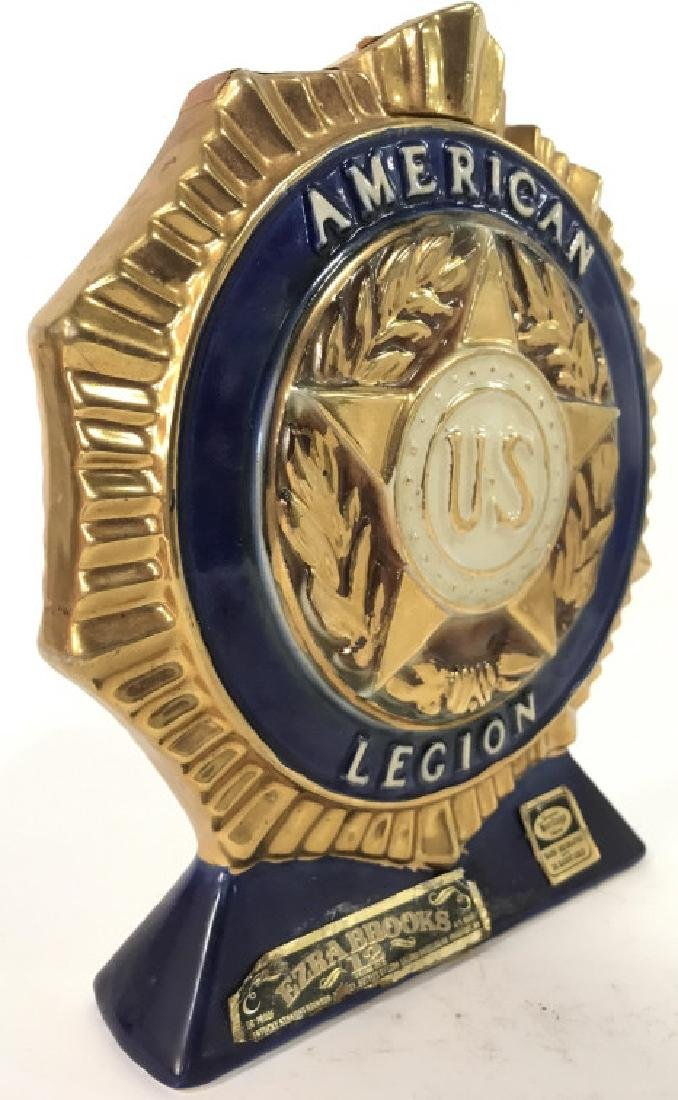 Vintage HERITAGE CHINA American Legion Decanter - 3