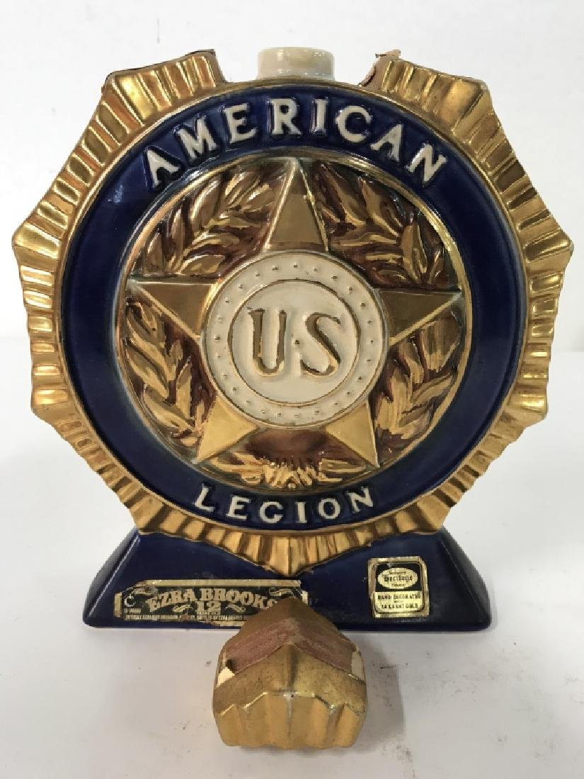 Vintage HERITAGE CHINA American Legion Decanter - 6