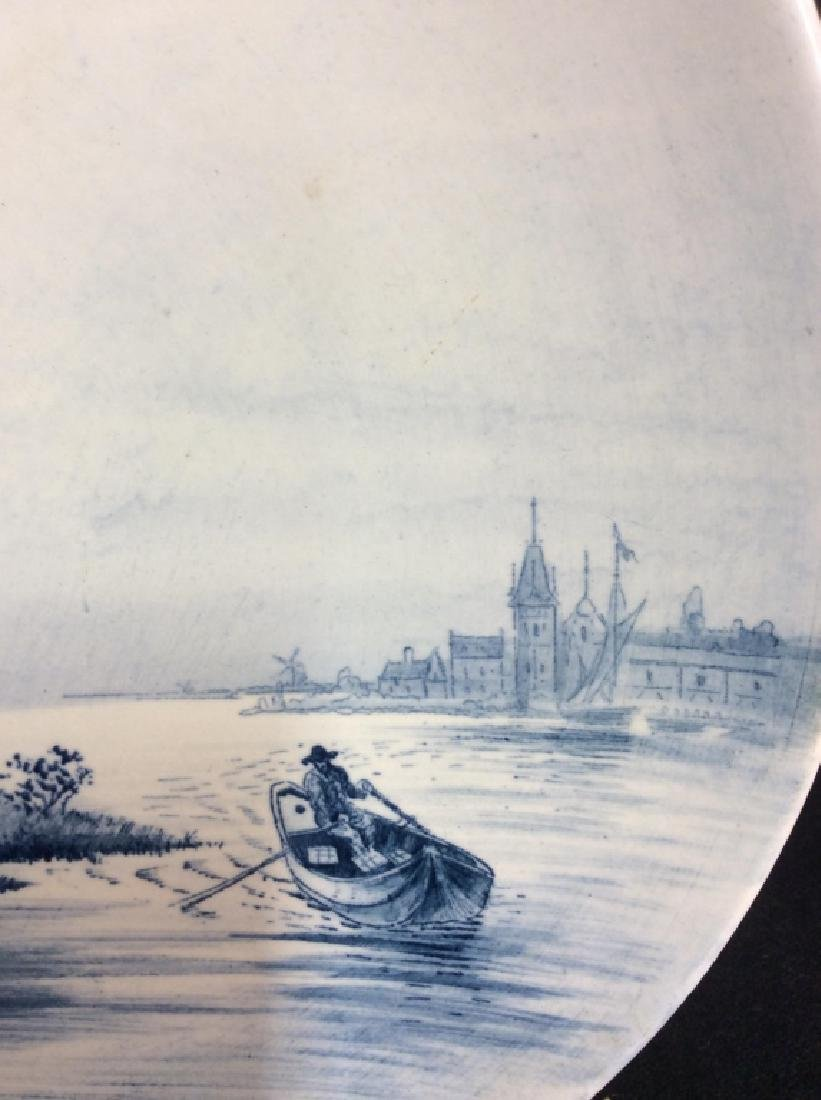 Antique Windmill Delft Plate - 4
