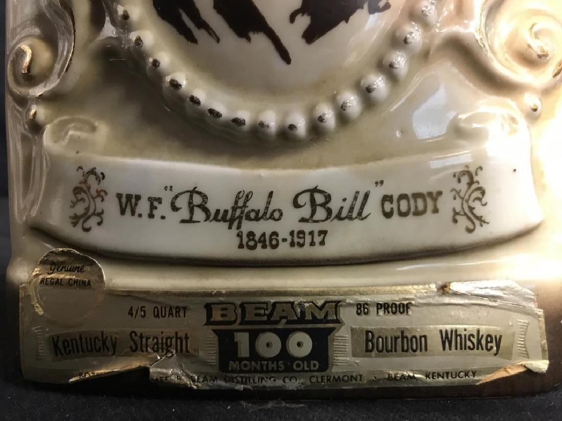 JIM BEAM BUFFALO BILL Handcrafted Decanter - 6