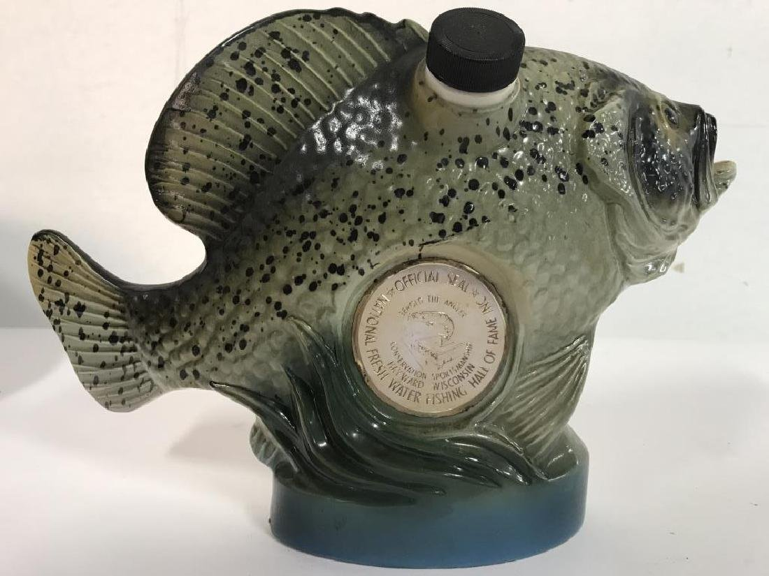 Vintage JIM BEAM Fish Decanter - 3