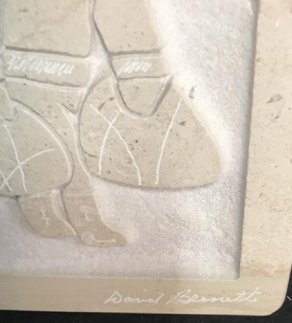David Bennett Inuit Relief Sculpture - 3