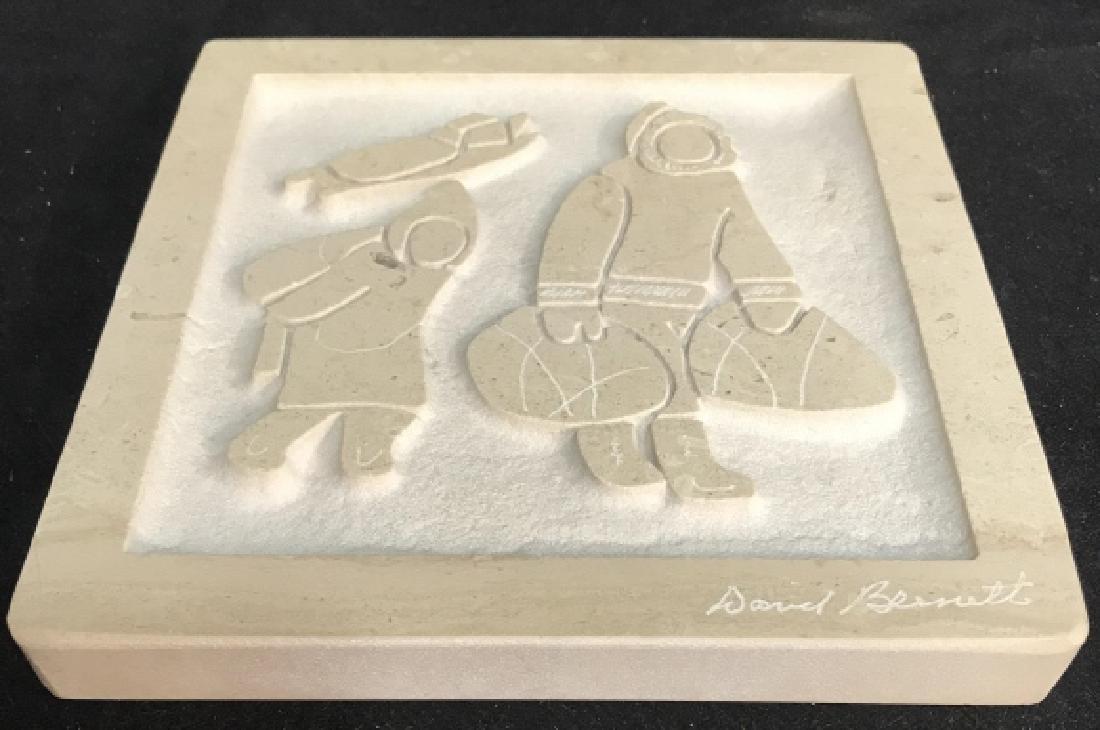 David Bennett Inuit Relief Sculpture - 8
