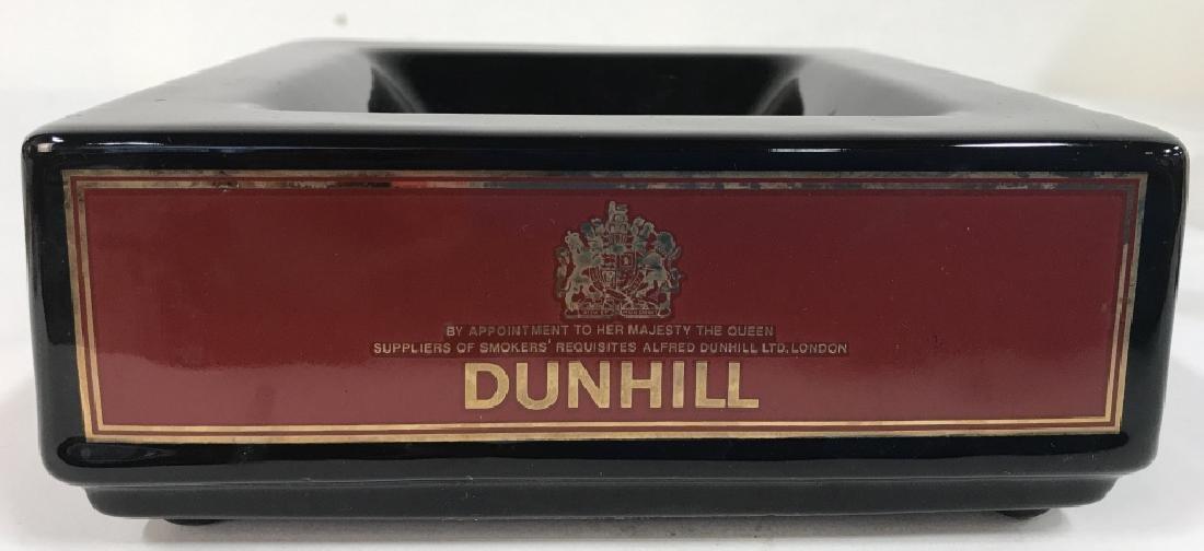 Vintage England Square Ceramic Dunhill Ashtray