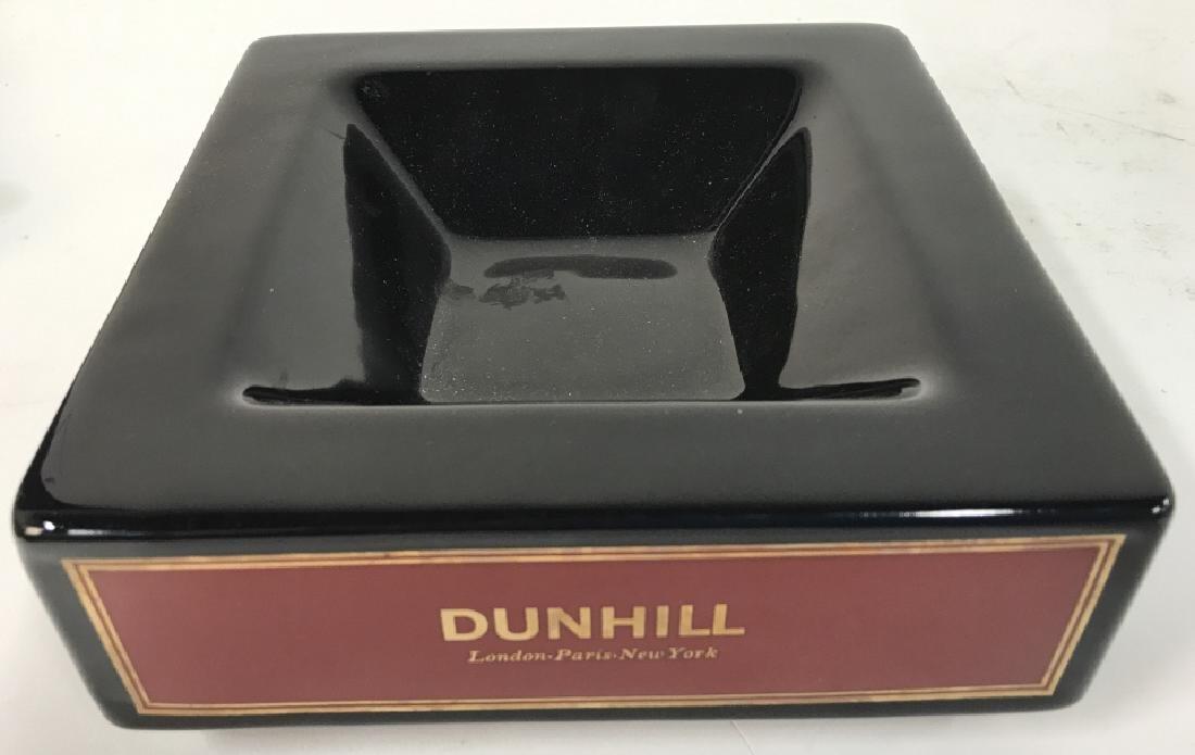 Vintage England Square Ceramic Dunhill Ashtray - 3