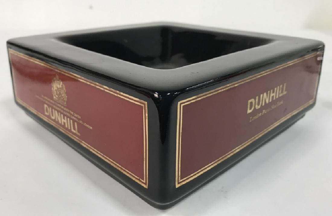 Vintage England Square Ceramic Dunhill Ashtray - 4