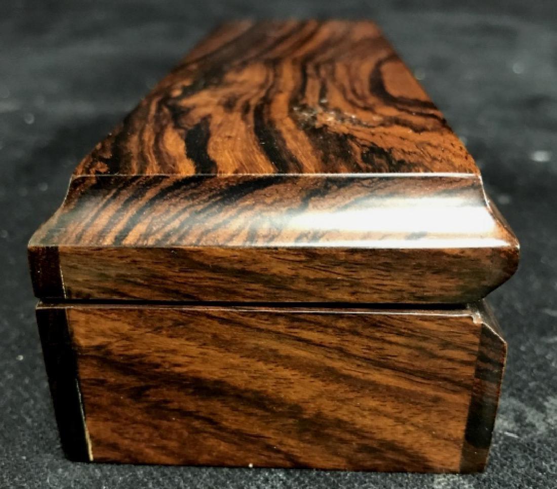 Shinnecock Hills Clock Rosewood Box - 4